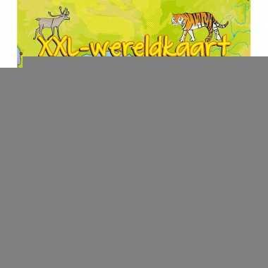 Wereldkaart xxl voor kinderen