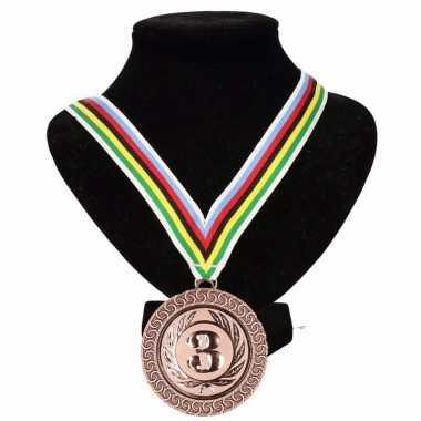 Wereldkampioen lint nr. 3 medaille