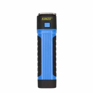 Werklamp / zaklamp cob + led verlichting blauw