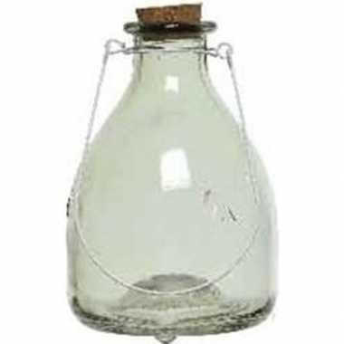 Wespenvanger/wespenval groen 18 cm glas
