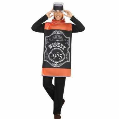 Whisky fles fun verkleed kostuum voor volwassenen