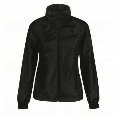 Windjas zwart voor dames