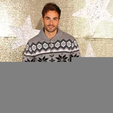 Winterprint truien met sjaalkraag