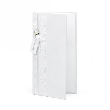 Wit bruiloft kado doosje voor geld