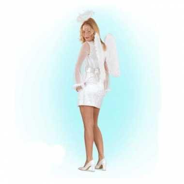Wit engelen outfit voor vrouwen