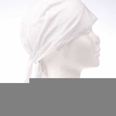 Wit kleurige bandana
