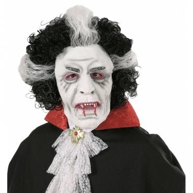 Wit vampieren masker voor volwassenen