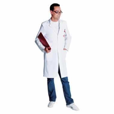 Witte dokters jas heren