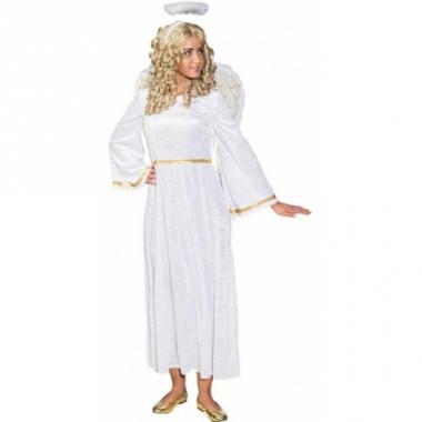 Witte engelen verkleedjurk
