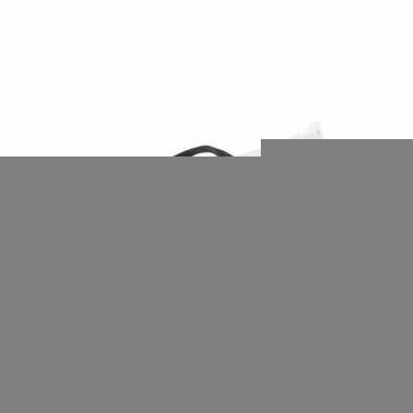 Witte heuptasje platmodel