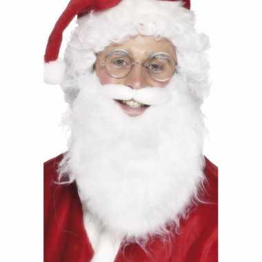 Witte kerstman baard