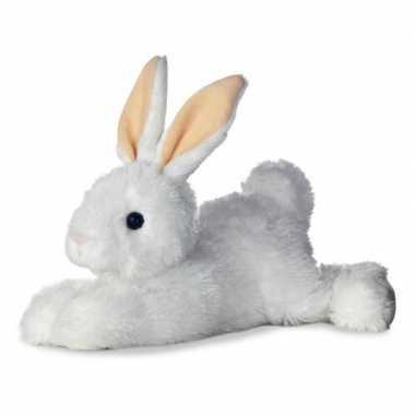 Witte konijnen speelgoed artikelen konijn knuffelbeest 30 cm