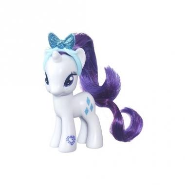 Witte my little pony schoenkado pop 8 cm