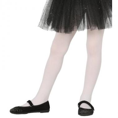 Witte panty 15 denier voor meisjes