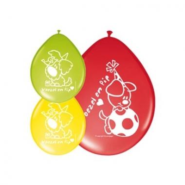 Woezel en pip gekleurde ballonnen