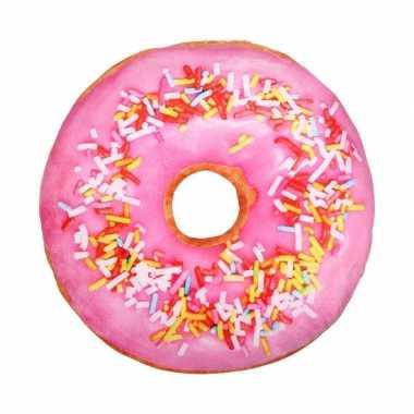 Woonaccessoire donut kussen 40 cm