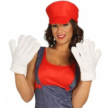 Xxl handschoenen wit