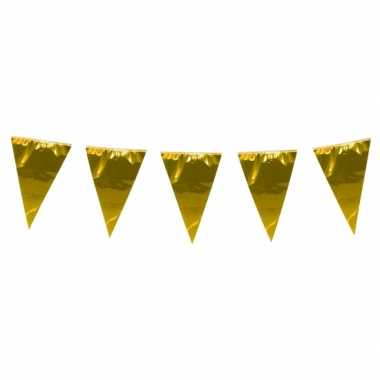 Xxl vlaggenlijn goud 10 meter