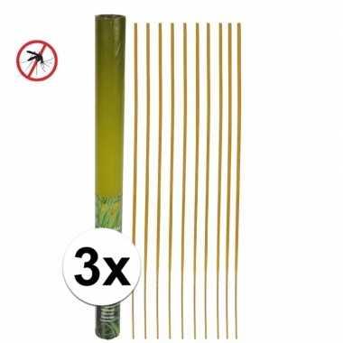 Xxl wierookstokjes anti muggen 50 cm