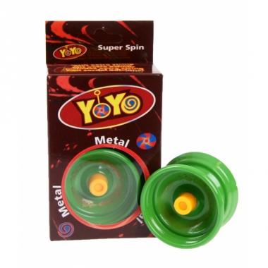 Yoyo in de kleur groen