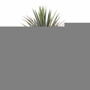 Yucca kunstplant 90 cm in pot voor binnen/buiten