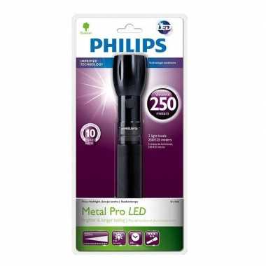 Zaklamp philips lightlife sfl7000 / 10 zwart 25 cm