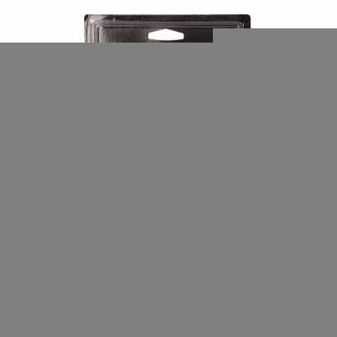 Zaklamp superbright geel 19 cm