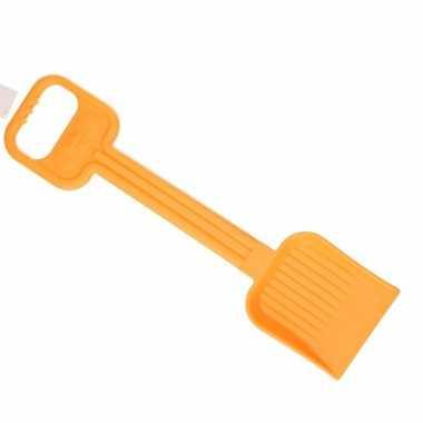 Zand.strand schep 54 cm oranje
