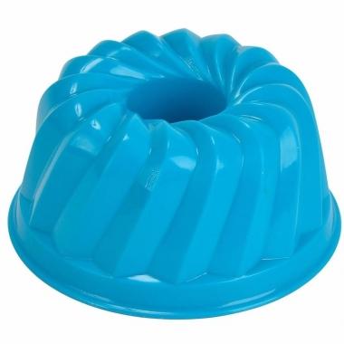 Zandvorm gebakje blauw