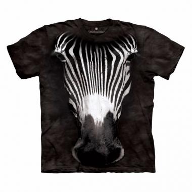 Zebra t-shirt voor volwassenen