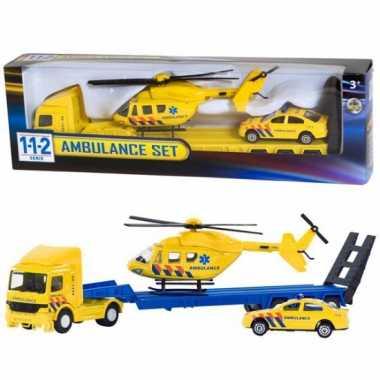 Ziekenwagens speelgoed