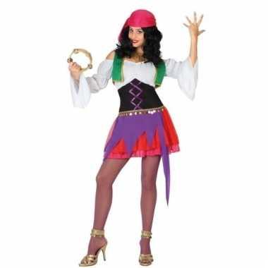 Zigeunerin kostuum 3-delig voor dames