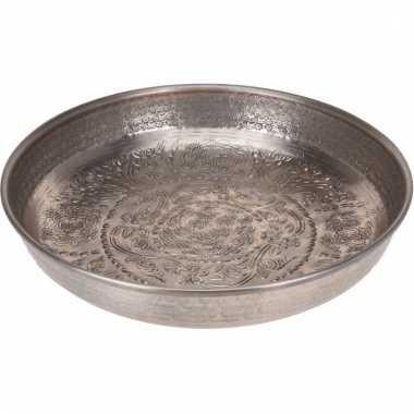 Zilveren decoratieschaal 39 cm type 1