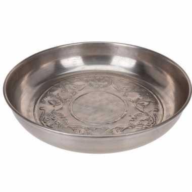 Zilveren decoratieschaal 39 cm type 4