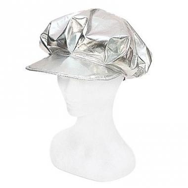 Zilveren disco pet dames