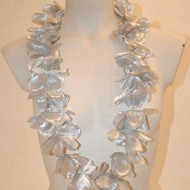 Zilveren hawaii kranzen