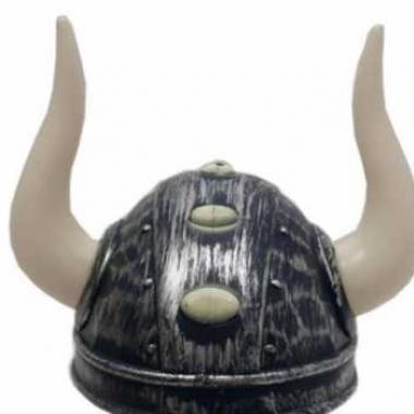 Zilveren viking helm voor volwassenen