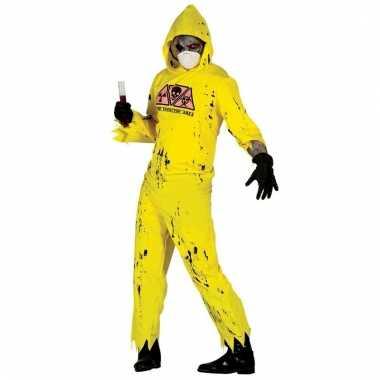 Zombie drugslab verkleed pak voor heren