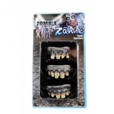 Zombie gebitjes grijs