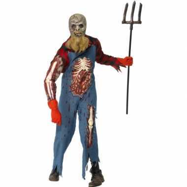 Zombie neanderthaler kostuuum