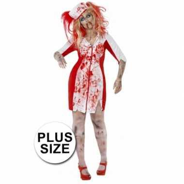 Zombie zuster jurkje grote maat