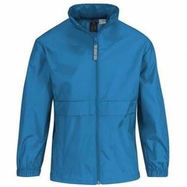 Zomerjasje windjas aquablauw voor jongens