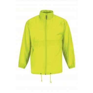 Zomerjasje windjas geel voor heren/mannen