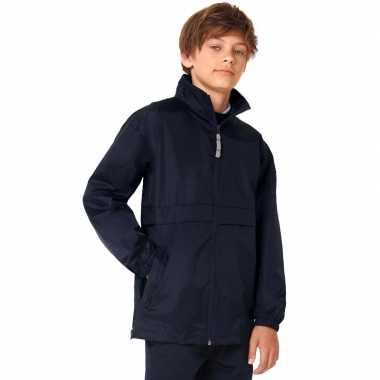 Zomerjasje windjas marineblauw voor jongens
