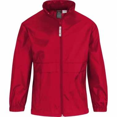 Zomerjasje windjas rood voor jongens