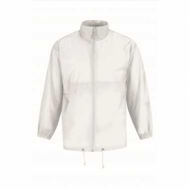 Zomerjasje windjas wit voor heren/mannen