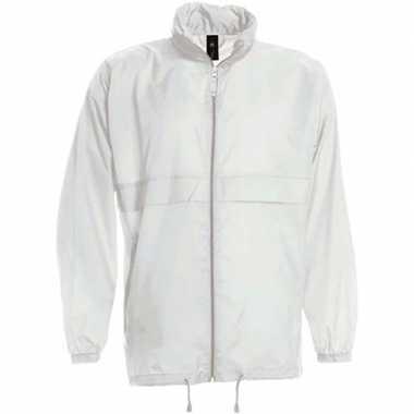 Zomerjasje windjas wit voor jongens