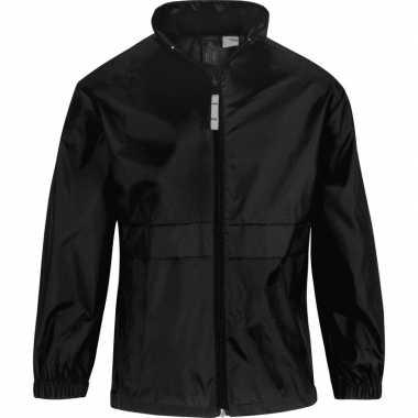 Zomerjasje windjas zwart voor jongens