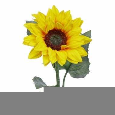 Zonnebloemen decoratie 81 cm