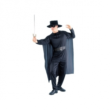 Zorro look-a-like verkleedpak voor heren